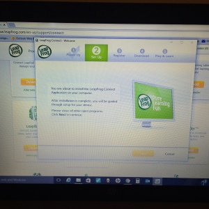 Leapfrog Connect page
