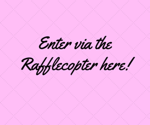 Enter via the Rafflecopter here!