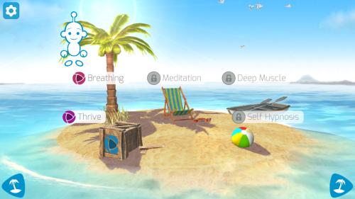 stress-free-app-menu-page