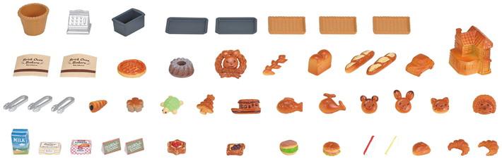 sylvanian-families-brick-oven-bakery-items