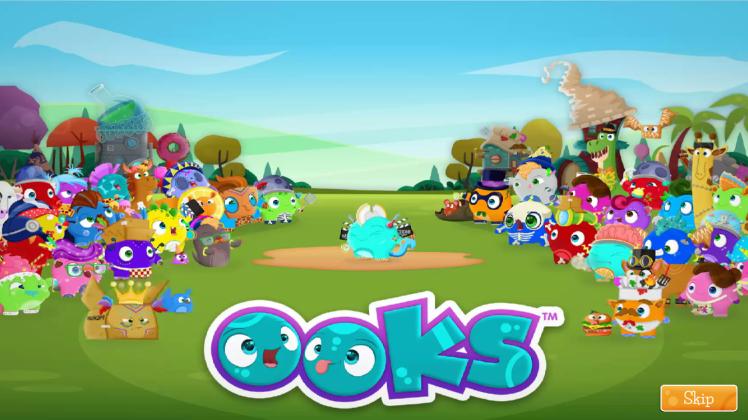 Ooks-app-start-screen