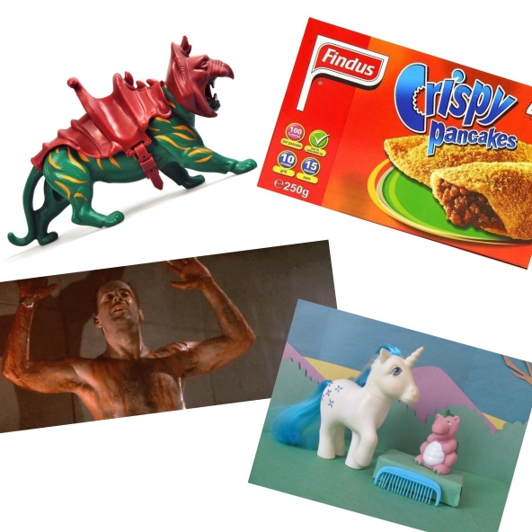 findus crispy pancakes battlecat he man bruce willis die hard my little pony