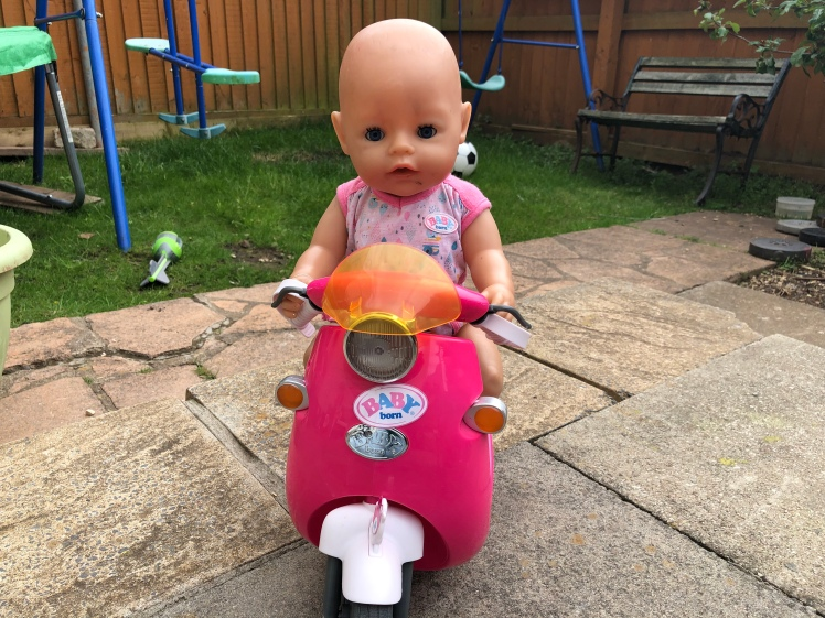 BABY Born RC Scooter With BABY Born Doll