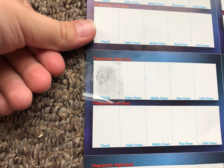 Thames & Kosmos Master Detective Toolkit Fingerprint