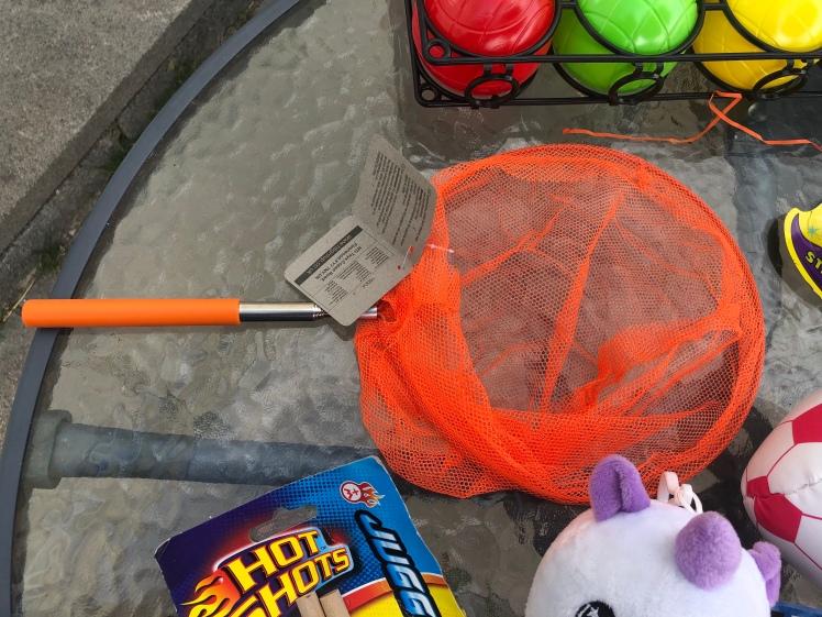 HTI Pocket Money Toy Extendable Fishing Net