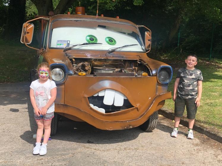Mamhilad Park Estate Car Show Mater