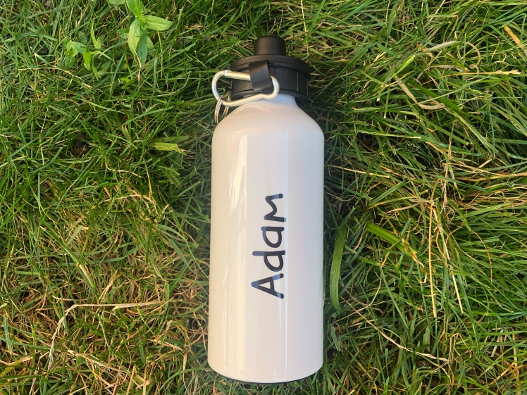 Giftpup Boys Name White Adult Water Bottle