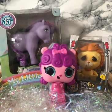 My Little Pony Blossom Feisty Pets Marky Mischief Pop Pop Hair Surprise