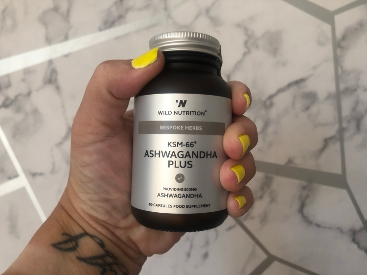 Food-Grown KSM-66 Ashwagandha Plus by Wild Nutrition