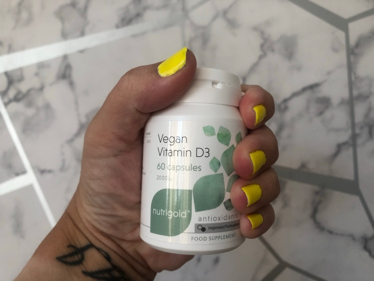 Vegan Vitamin D3 2000iu x 60 Capsules by nutrigold