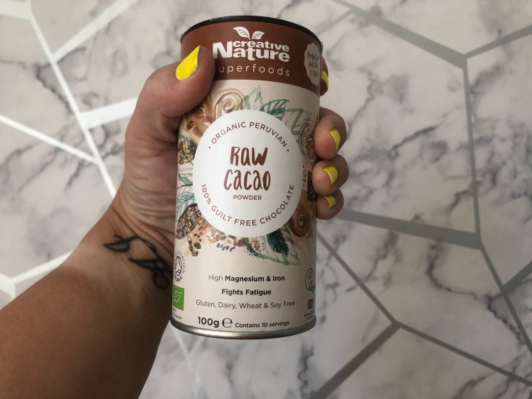 Raw Organic Cacao Powder by Creative Nature