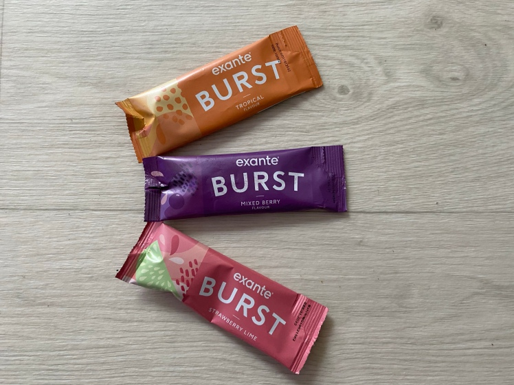Exante Burst Tropical Mixed Berry Strawberry Lime