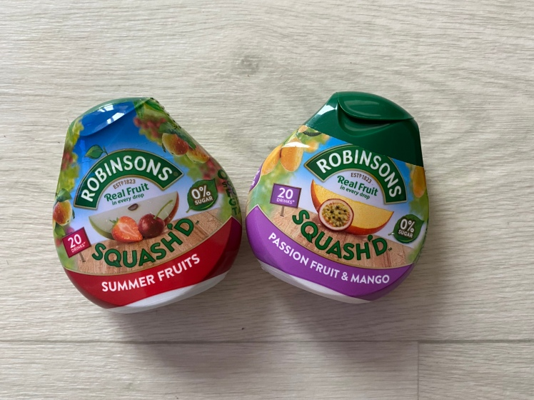 Robinsons Squash'd Summer Fruits Passion Fruit & Mango
