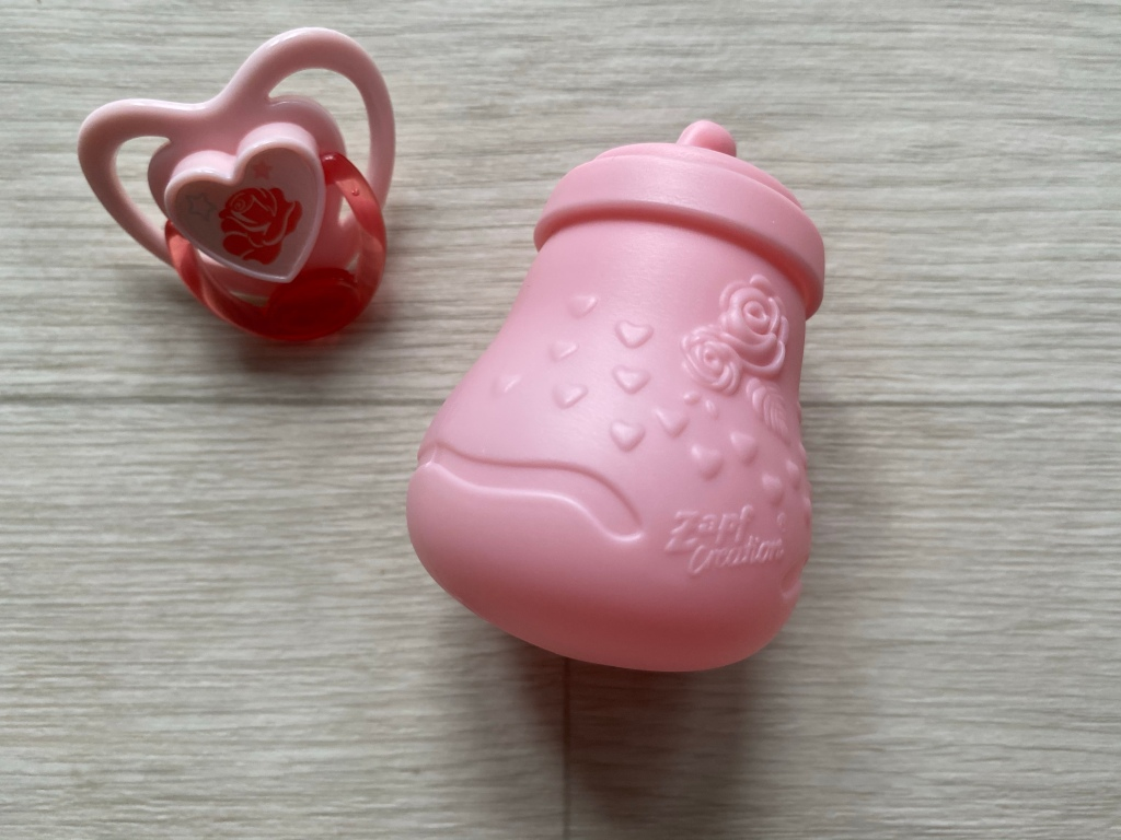 Baby Annabell Sweet Dreams Mia Bottle Dummy